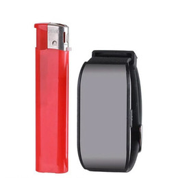 Wholesale Led Watch 8gb - Sport Watch Digital Audio Voice Recorder 8GB Watch Sound recorder with 1.2inch LED Screen Support MP3 Player Sound controlled