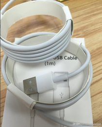 Wholesale Apple Original Ipad Usb Cable - with retail package box 1:1 Original Quality USB Data Sync Chargers Cables For ipad iPhone 7 6s 6 plus 5 5s Samsung HTC