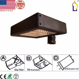 Wholesale Meanwell 12v - stock in USA hot sales street lights 80 100 120 150 200W Meanwell driver SMD3030 chip IP65 Led street outdoor lighting 1pcs lot
