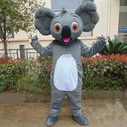 Wholesale Happy Bear Mascot - customized mascots Real Pictures funny Koala mascot costume adlut happy bear cartoon character mascots for sale