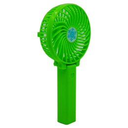 Wholesale Personal Electric Fans - Foldable Hand Fans Battery Operated Rechargeable Handheld Mini Fan Electric Personal Fans Hand Bar Desktop Fan