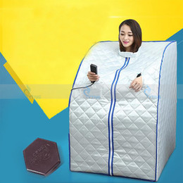 Wholesale Sauna Blankets - Professional Sauna Box FIR Heating Therapy Blanket Thermal Detox Body Shaping Slimming Wrap Bag Far Infrared Home Spa Machine
