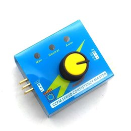 Wholesale Boat Servo - Steering Gear Tester Servo Motor Tester 3 Switch Mode For RC Helicopter Car Boat