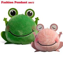 Wholesale Wholesale Frog Handbags - 2017 New arrival plush frog doll mobile phone Automobile keychain pendant Accessories stuffed toys For handbag Bag Purse gift