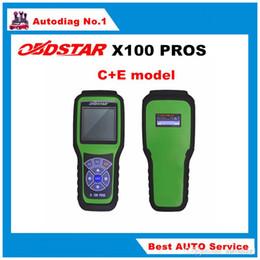 Programador clave toyota scanner online-OBDSTAR Auto Key Programmer X100 PROS Modelo C + E con función de escáner X200 x-100 pro con adaptador EEprom