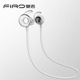 Wholesale Good Music Phones - New Fashion In Ear Bluetooth Headphone Firo S5 CSR8635 4.1 Noise Cancelling Sport Running Earphone Studio Music With Good Retail Box