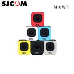 Wholesale Connector Camera - Original SJCAM M10WIFI Full HD Mini Sport Camera 2K Video Resolution Waterproof Camera 1080P Sport DV Connector