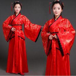 Tang costume femminile fata fanciulla dinastia dinastia Han hanfu classico danza principessa concubina da