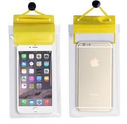 Wholesale Best Waterproof Phone Cases - 2017 Waterproof cell phone pouch PVC waterproof case for Clearly taking pictures Best Waterproof Phone Bag