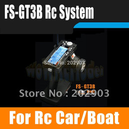 Wholesale Parts For Rc Boat - Remote Control Parts Accs Flysky FS-GT3B FS GT3B 2.4G 3CH Gun RC System Transmitter with Receiver For RC Car Boat with LED Screen