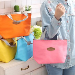 Wholesale Ice Bag Insulation - Wholesale- Wholesale insulation package Shoulin Lunch bag Preservation bag lunch Lunch package Cute ice pack Cold small bag Hot sale