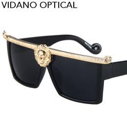 Wholesale Wild Woman - Vidano Optical Hot Wild Lion Design Square Sunglasses For Men & Women Latest Arrival Designer Summer Luxury Sun Glasses UV400 Eyewear