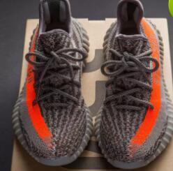 Wholesale Eur Size 46 - 2017 SPLY-350 Boost V2 2016 New Kanye West Boost 350 V2 SPLY Running Shoes Grey Orange Stripes Zebra Bred Black Red Size eur 36-46
