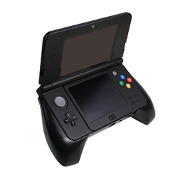 Wholesale Black Nintendo 3ds - Black Plastic Handle Grip Holder Stand Gaming Case for Nintendo New 3DS Hand Game Console Controller