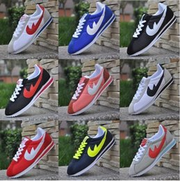 Wholesale Hot Aa - high quality AA+ Hot new brands Casual Shoes men and women cortez shoes leisure Shells shoes Leather fashion outdoor Sneakers size 36-48