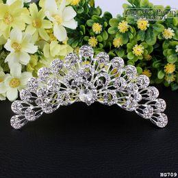 Wholesale Bridal Jewelry Sets Korean - Real Photo 2017the latest Vintage Crystal Tiara Bridal Hair Accessories formal headwear kids Luxurious atmosphere. Korean version