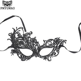 Wholesale Unique Animal Masks - PMYUMAO Phoenix Form Hardening Queen Mask Woman's sexy lace masks Party Carnival Unique party mask dressing supplies PM119