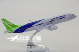 Wholesale Finish Standards - Wholesale- China air C919 new type airliner metal plane model 20cm length good quality finished static model standard shipping service