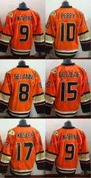 Wholesale hockey jersey kesler - 2016 Anaheim Ducks New Alternate Orange Hockey Jersey 15 Ryan Getzlaf 10 Corey Perry 17 Ryan Kesler Teemu Selanne Kariya Jerse