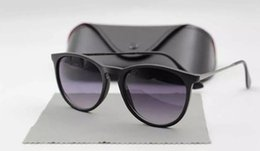 Wholesale Drop Shipping Sunglasses - Women Sunglasses Erika UV400 Designer Sun Glass Original Glass Lenses Summer Eyewear Drop Shipping
