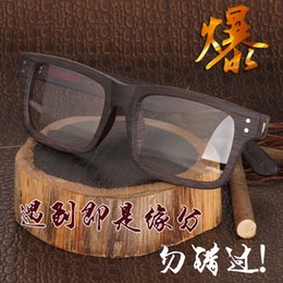 Wholesale Restore Wood - Wholesale- Hand Of Wood Plate Glasses Frame Man Restore Ancient Ways Business Affairs Myopia Glasses Ma'am Will Frame Decoration Frame