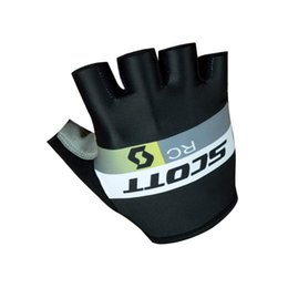 Wholesale Glove Scott - Tour of France Teams Edition SKY BORA SCOTT bicycle Cycling Gloves guantes ciclismo MTB gloves half finger Racing road bike gloves