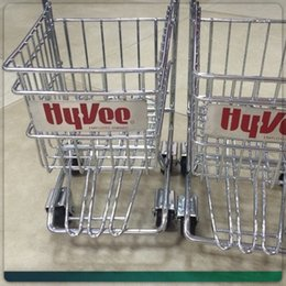 Wholesale Shopping Carts For Supermarket - the big items for European and American style shopping Cart Mobile Phone Holder Pen Holder Mini Supermarket Handcart Shopping Utility Cart
