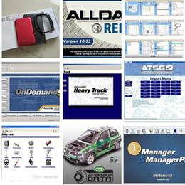 Wholesale Alldata Heavy Trucks - Alldata 10.53 575GB Mitchell OnDemand 163GB Mitchell Ultramate + ATSG + manager+vivid work shop+heavy Truck auto software in 1tb hdd