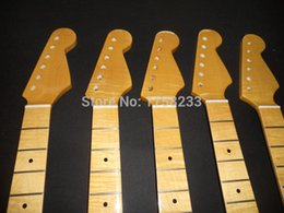 Wholesale Fender Maple Neck - 2017 Free shipping new wholesale stratocaster one-piece neck tiger maple neck 22 fret in stock