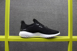 Wholesale Rubber Bounce Shoes - Men Athletic Alphabounce 1 M 330 Black Sport Running Shoes Adult Brand Bounce White Blue Grey Sneaker Boost 40-45