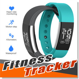 Wholesale Pressure Monitoring - SmartBand blood pressure F1 Smart Bracelet Watch Heart Rate Monitor Smart Band Wireless Fitness Tracker FITBIT Style For Android IOS Phone