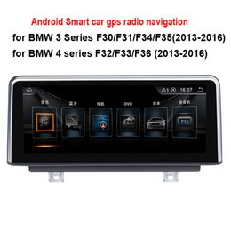 Wholesale Canada Car Stereo - 8.8 10.25 inch Android Car Radio Stereo for BMW 3 Series F30 F31 F34 (2013-2016) 4 series F32 F33 F36 (2013-2016) GPS Navigation no car dvd