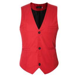 Wholesale Lavender Vest For Men - Plus Size Mens Dress Vests For Man Suit Sleeveless Male For Vest Waistcoat Designs Wedding Dresses Blazer Coat Vest