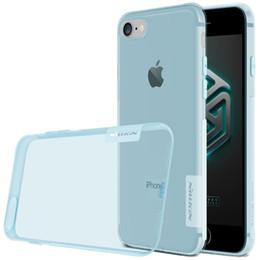 Wholesale Iphone Tpu Gel Bumper - NILLKIN For iPhone 8 7 plus Cases Thin Clear Soft Flexible Gel TPU Transparent Skin Scratch-Proof Bumper Case for Apple iPhone 7 8