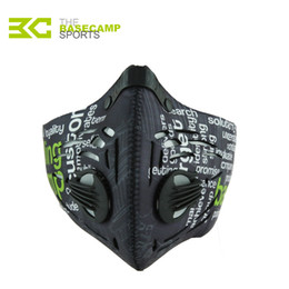 Wholesale Face Mask Filters - Anti Pollution City Cycling Face Mask Fitness Dust-Proof Outdoor Sports Jogging Mask Mens Motorcycle Air Filter Half Face Mask