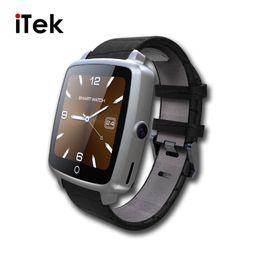 Wholesale Black Leather Camera Strap - Leather Strap Bluetooth SmartWatch U11C Smart Watch Phone Support SIM Card,Video Play for IPhone Samsung Xiaomi Pk U8 GT08 DZ09
