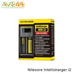 Canada Nouveau chargeur Nitecore i2 Universal Nitecore Intellicharger i2 compatible avec la batterie 18650 26650 14500 VS Nitecore i4 Offre