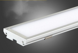 Wholesale Remote Tube Lights - Ultra thin LED Panel Light 4ft 1200mm 25W batten Tube shaped surface mounted ceiling lamp High brightness 2000Lm Downlights AC85-265V LLFA