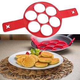 Wholesale Silicone Egg Rings - New 2017 Non Stick Flippin' Fantastic Nonstick Pancake Maker Egg Ring Maker Kitchen Tools