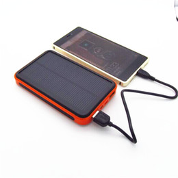 Wholesale Externa Charger - New style Waterproof solar power bank 50000mah bateria externa solar charger powerbank for mobile phone for Digital products charging