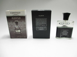 Wholesale Cosmetic Men - Fashion Creed aventus perfume for men cologne 120ml Body Spray with long lasting time good smell fragrance cosmetic Free Shipping