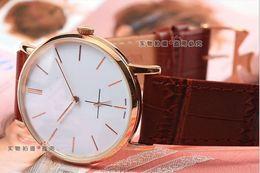Wholesale Best Movements - NEW Automatic Movement Men's watch best Watches Leather strap ja03