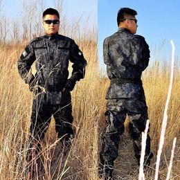 kampfanzug armee Rabatt Ripstop BDU ACU Camouflage Anzüge Armee Outdoor Jacke Set Kampf Airsoft Uniform US Army Kleidung ACU Version Combat Uniformen Set