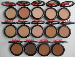Wholesale Pressed Powder Plus Foundation - Free Shipping MAKEUP NEW Studio fix powder plus foundation 15g ( 12 pcs lot)