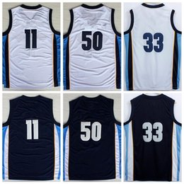 Wholesale Shirt Sound - High Quality 33 Marc Gasol Jersey 1970 Sounds Throwback Basketball 50 Zach Randolph Shirt Uniform 11 Mike Conley Red Navy Blue White