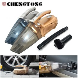 Wholesale Used Vacuum Pump - Wholesale- 4 in 1 Car Vacuum Cleaner Car Inflator Pump Compressor Portable Dry and Wet Dual-use Multi-function Cleaner Car Tool CV005