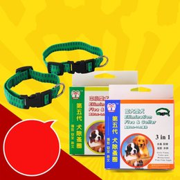 Wholesale Dog Cat Bell Collars - Elimination Flea And Tick Collar Anti Mosquitoes Dog Pets Collars Adjustable Cat Dogs Necklet Kill Fleas Bell Chaplet 3 5kt A R