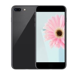 Wholesale Goophone Unlock - Goophone i8 plus 5.5 Inch Smartphone Quad Core MTK6580 1G 4G glass back cover Show 4g lte 4G 128G unlocked phone
