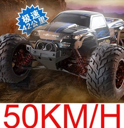 Wholesale Super Speed Rc - Wholesale- free shipping 2.4G 4CH Super Power RC Car High Speed Stunt Racing Car Remote Control Off-Road Vehicle