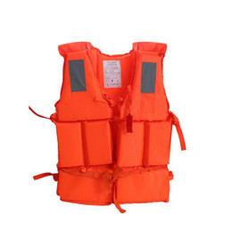 Wholesale Emergency Rescue Whistle - Survive Rescue Foam Lifejacket For Outdoor Swimming Drifting Surfing Upstream Emergency Life Jacket Vest With Whistle